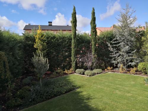 Jardín construido después de 8 años.